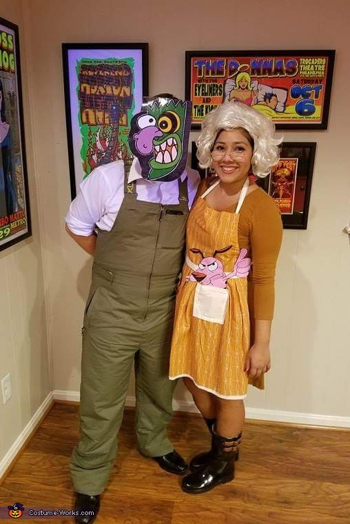 Eustace and Muriel Costume