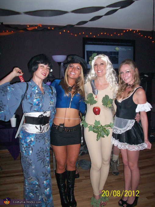 Eve Halloween Costume Ideas for Women