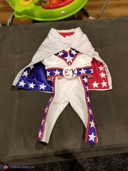 Finished costume 1, Carter Kenevil Costume