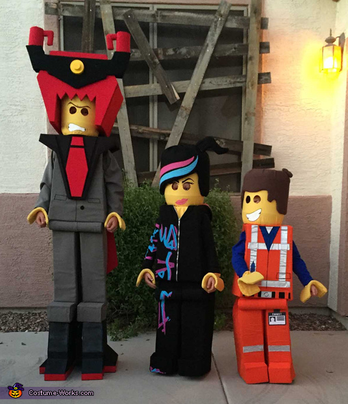 Everything is Awesome Lego Movie Costume