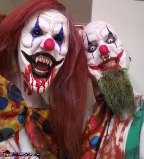 Evil Killer Clowns Homemade Costume