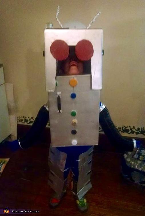 Evil Alien Robot Costume