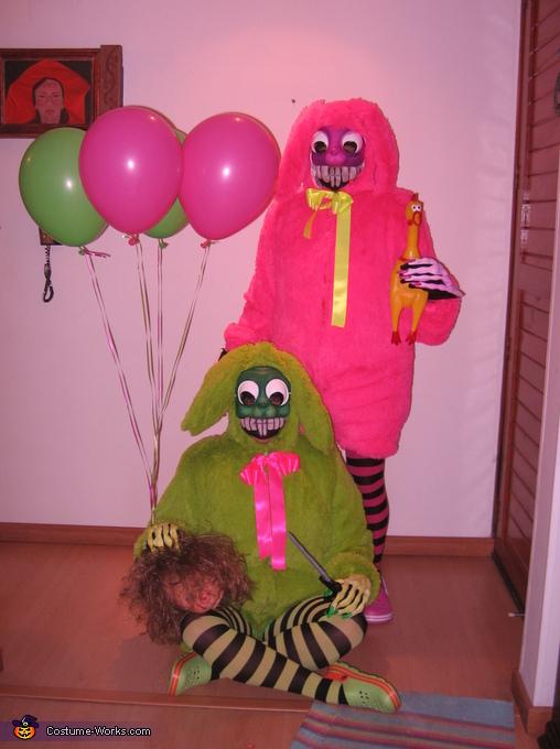 Evil Bunnies Costume