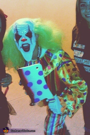 Another full body., Bobo The Evil Clown Scary Costume