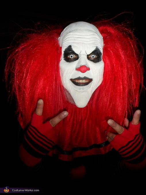 Evil Clown Adult Halloween Costume