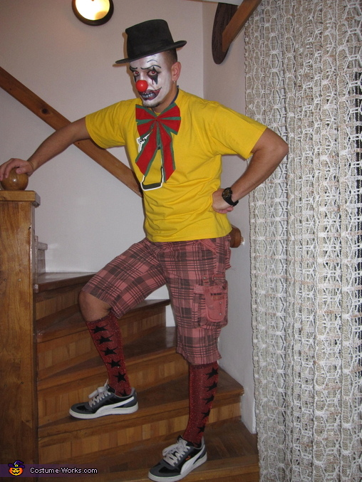 Evil Clown Halloween Costume