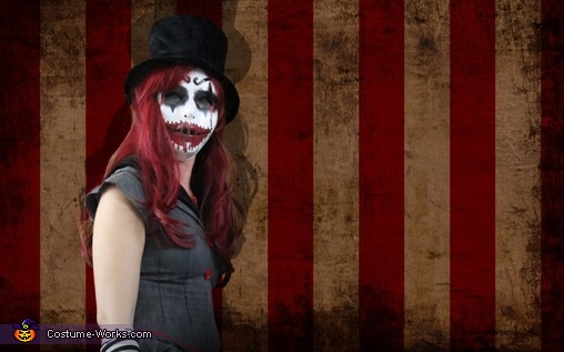 She Clown, Evil Clowns Costume