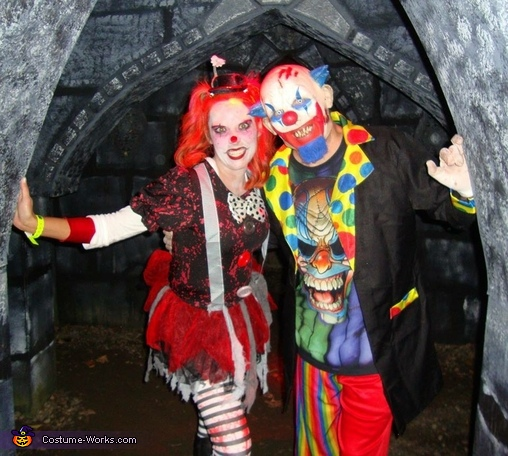 Evil Clowns Costume