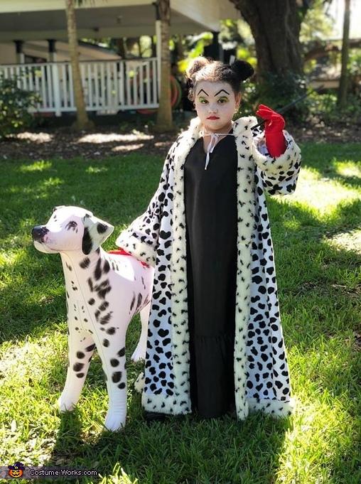 Evil Cruella Costume