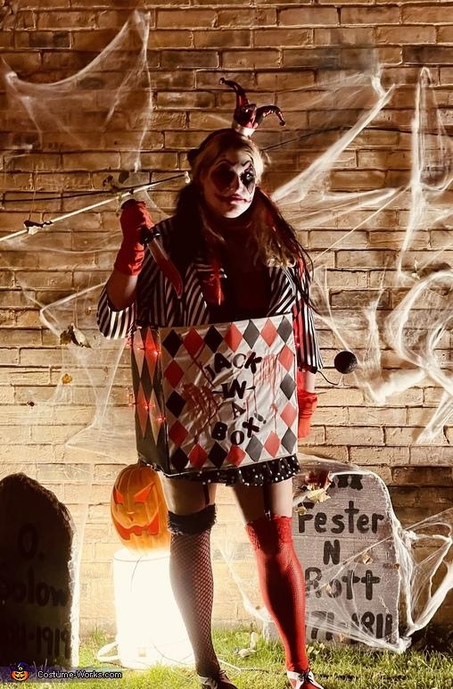 Evil Jack in a Box Costume