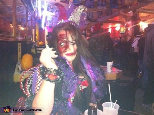 Evil Jester Homemade Costume