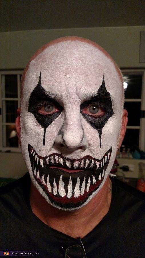 Evil Jesters Homemade Costume