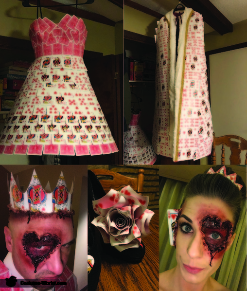 More photos, Evil King and Queen of Hearts Costume