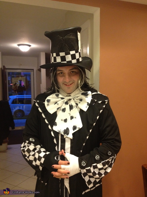 The Evil Mad Hatter, Evil Mad Hatter & Queen of Hearts Costume