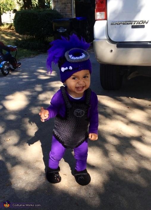 Top Evil Minion Baby Costume ZW16