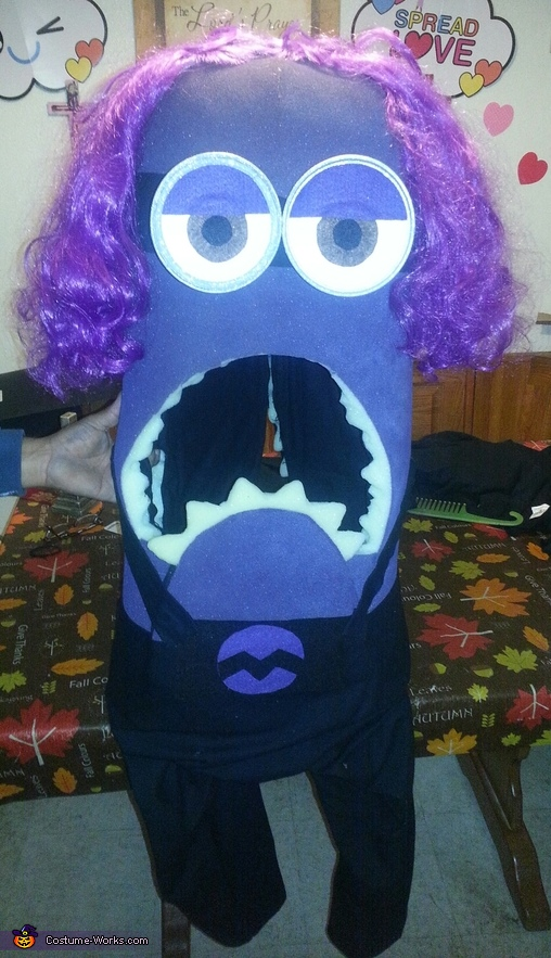 all done, Evil Minion Kevin Costume