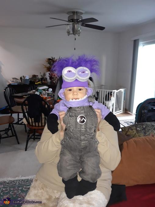 Evil Minion Baby Homemade Costume