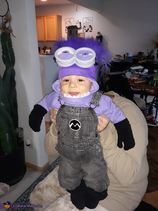 Evil Minion Baby Homemade Costume