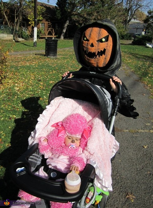 Evil Pumpkin and the Pink Poodle Costume