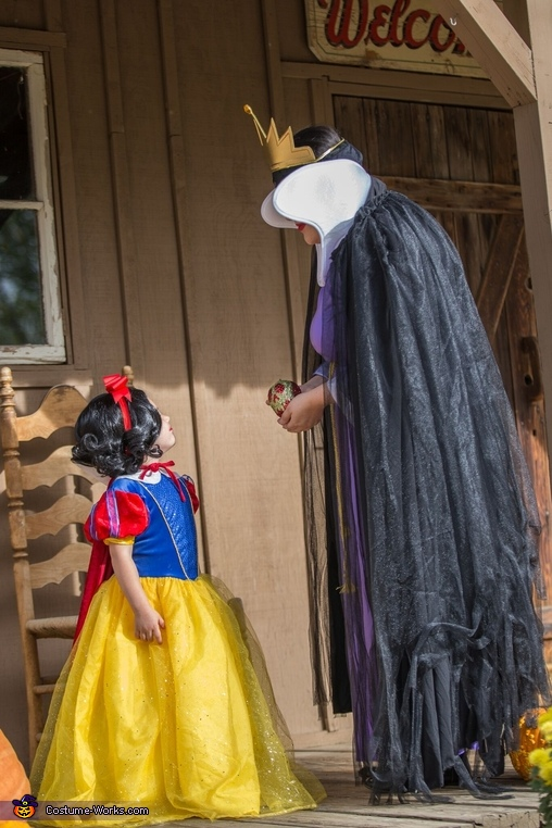 Just one bite..., Evil Queen and Snow White Costume