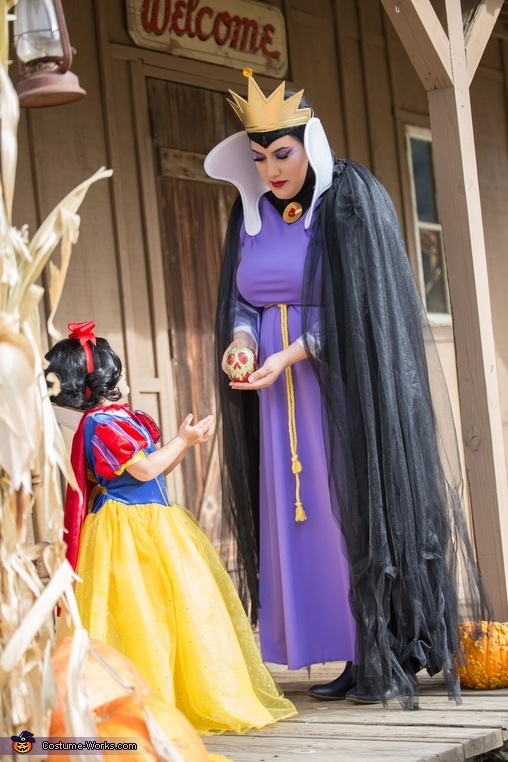 Apple, Evil Queen and Snow White Costume