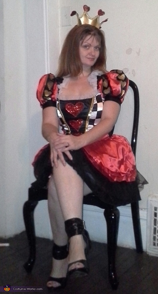 Evil Queen of Hearts Costume
