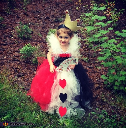 The Queen of Hearts, Evil Queens Costume