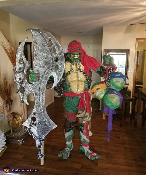 Evil Turtle Ninja Costume