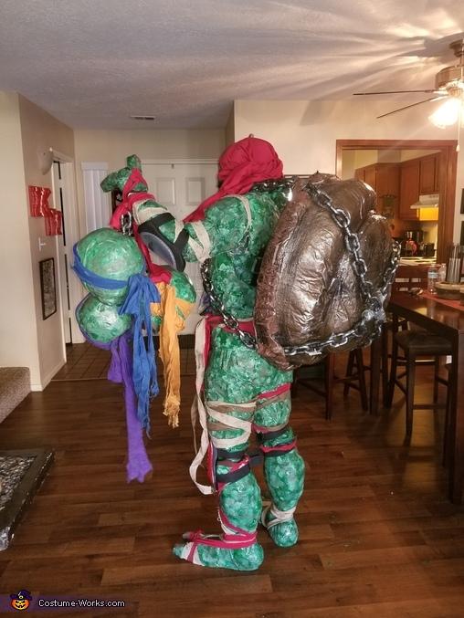 Evil Turtle Ninja Homemade Costume