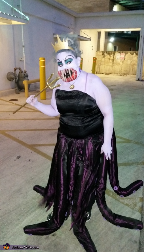 Evil Twisted Ursula, Evil Twisted Ursula Costume