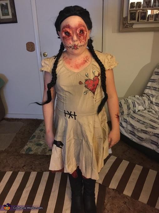 Evil Voodoo Doll Costume