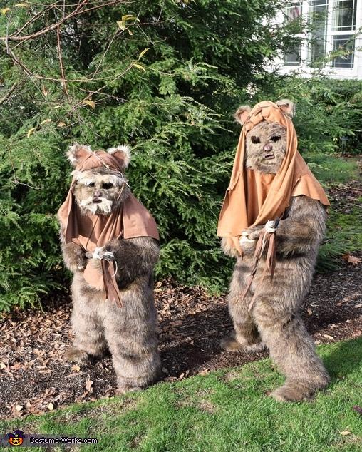 Ewok Brothers Costume