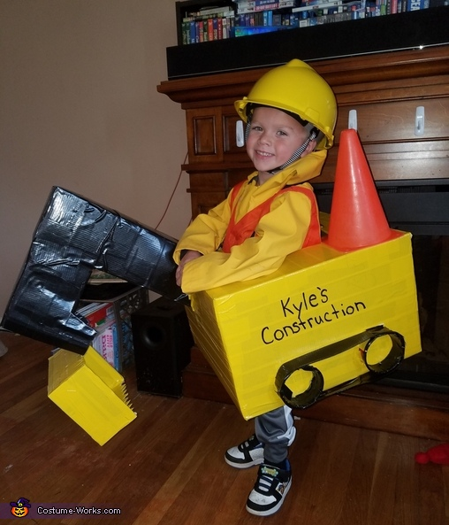 Kyle's Construction Costume