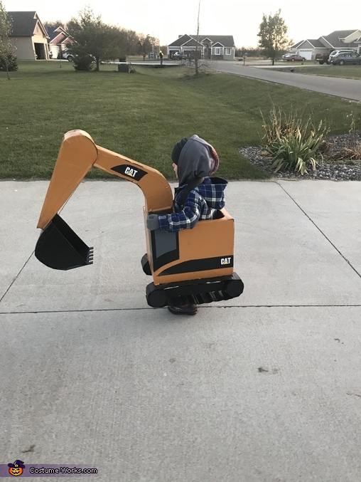Excavator Homemade Costume