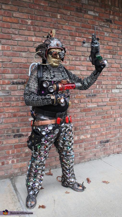 Extraterrestrial Cyborg Homemade Costume
