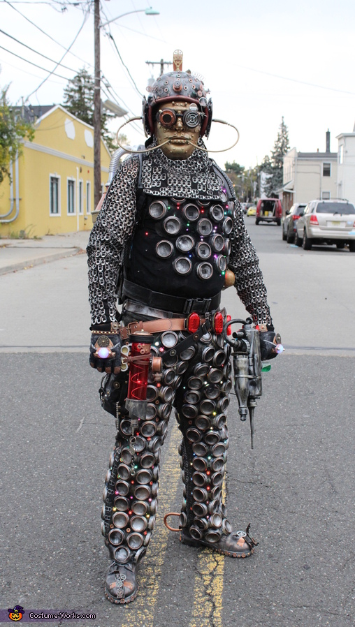 Extraterrestrial Cyborg Costume