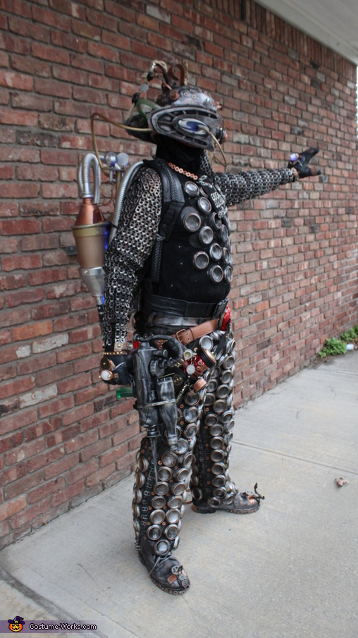 Extraterrestrial Cyborg Homemade Costume
