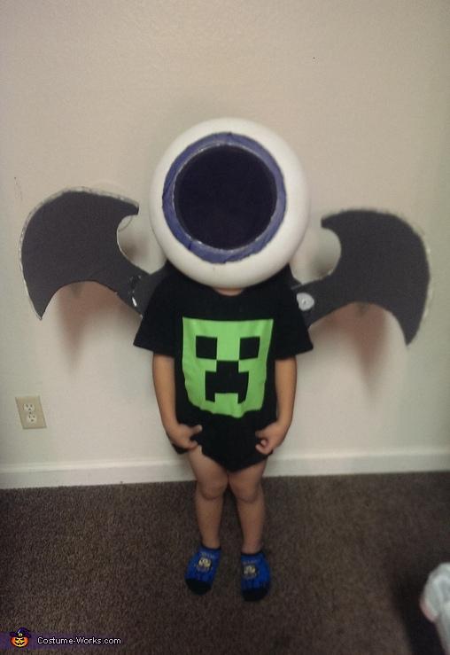 Eye Brawl Homemade Costume
