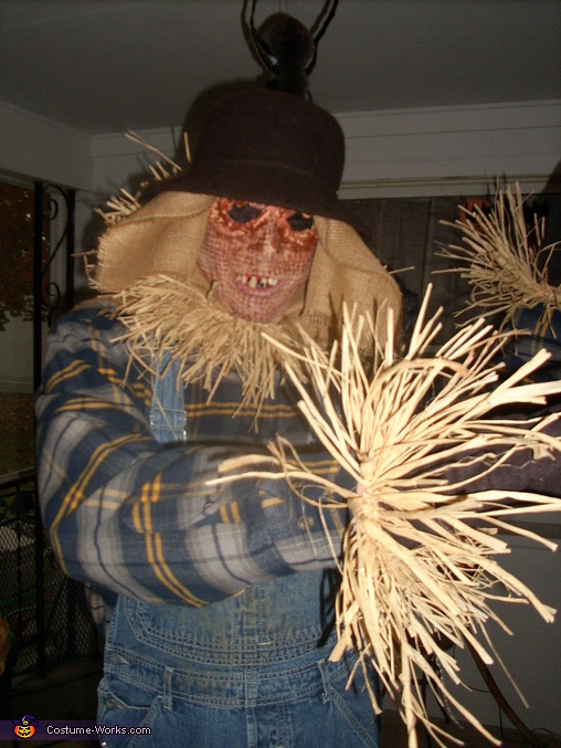 Eyeless Scarecrow Costume