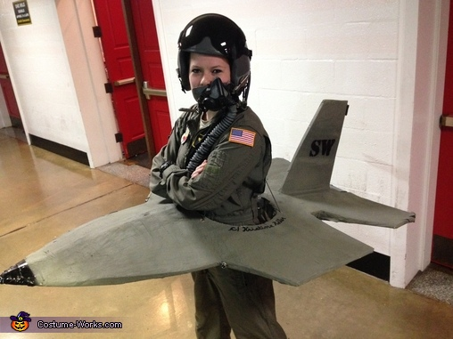 View from above!, F-16 Pilot Costume