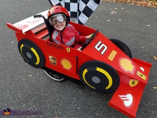 Sebastian Vettel - F1 Ferrari Driver Costume