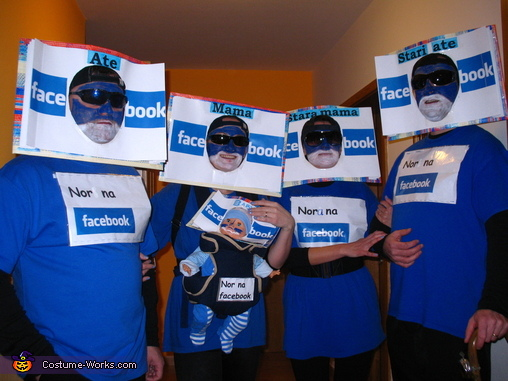 Facebook Family Group Costume