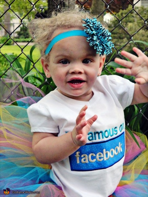 Facebook Princess Baby Costume
