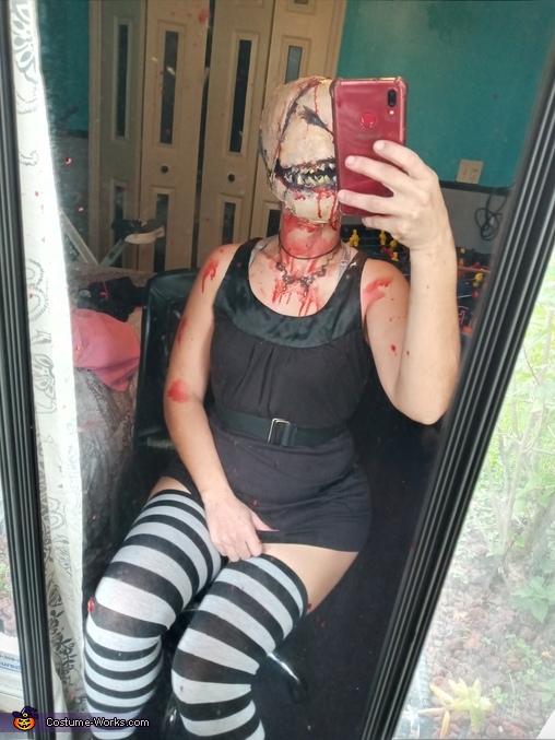 Faceless Homemade Costume