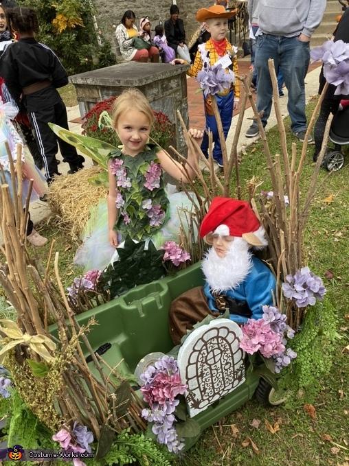 The kids, Fairy Garden Costume