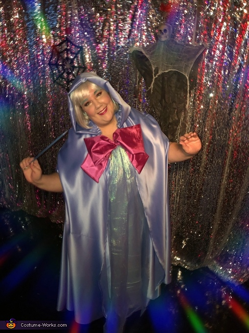 Really into character, Fairy Godmother Costume