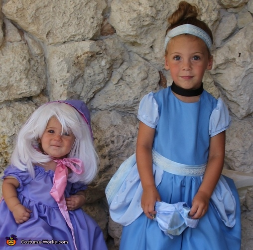 Fairy Godmother and Cinderella Costume