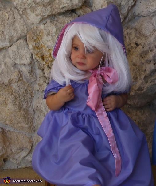 Fairy Godmother and Cinderella Homemade Costume