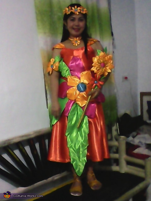 Fairy Queen of Flower Costume