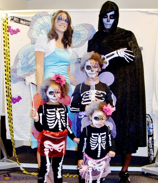 Fairy Skeleton Babies Costume